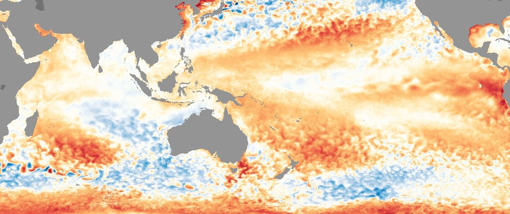 Sea Surface Temperature Anomaly (SSTA), pre-winter 2017 (image:  NOAA )