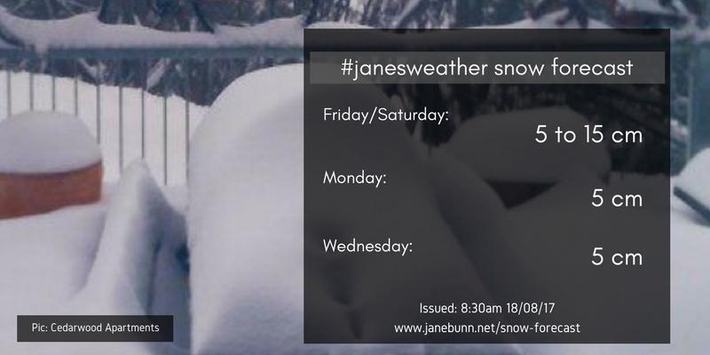 janesweather snow forecast
