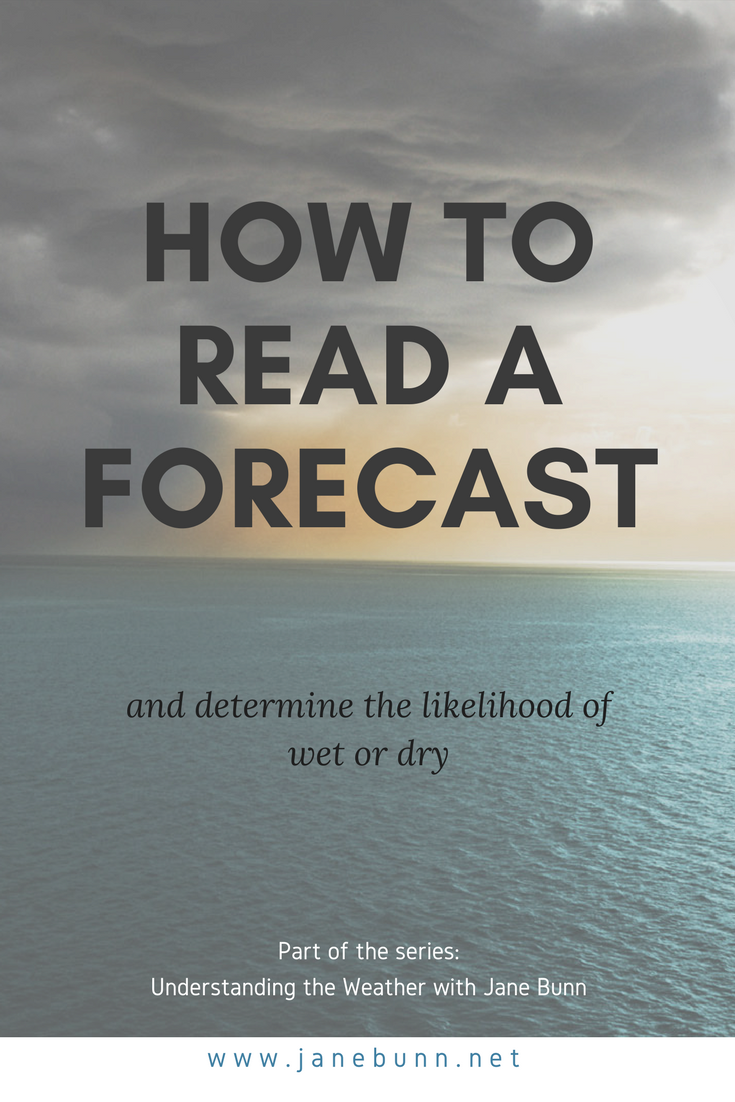 Understanding the Weather: A four part guide