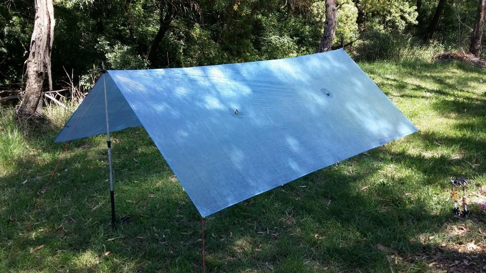 Cuben Fiber Tarp - 3.2 x 2.6 metres & Cuben Fiber Tarp - 3.2 x 2.6 metres u2014 Terra Rosa Gear