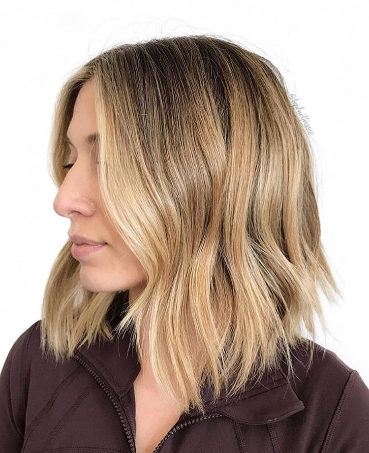 Blonding & Cut by Catherine