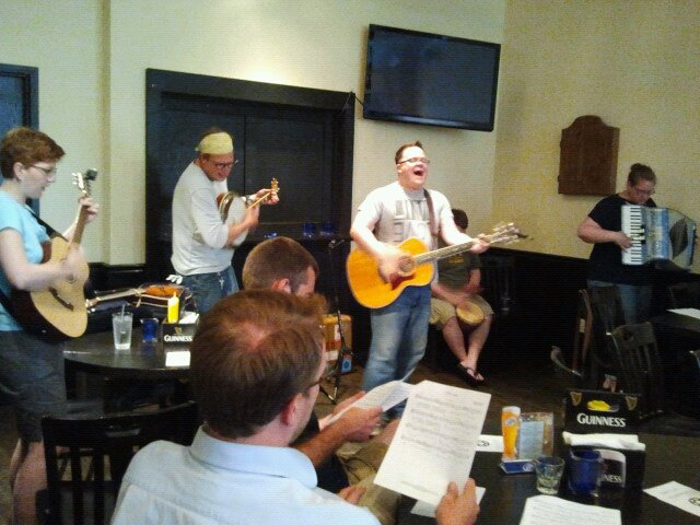 Beer and Hymns June