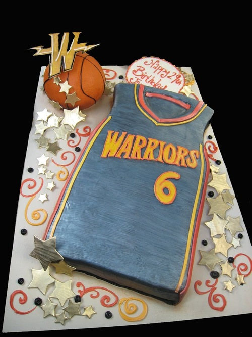 Birthday Cakes For The Golden State Warriors Cake Coquette
