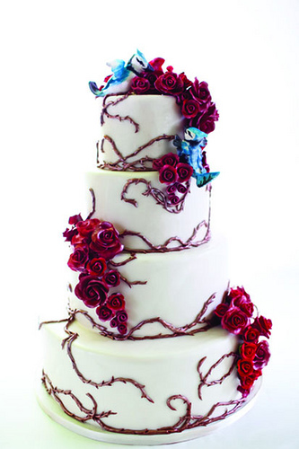 Valentine S Day Wedding Cake Coquette