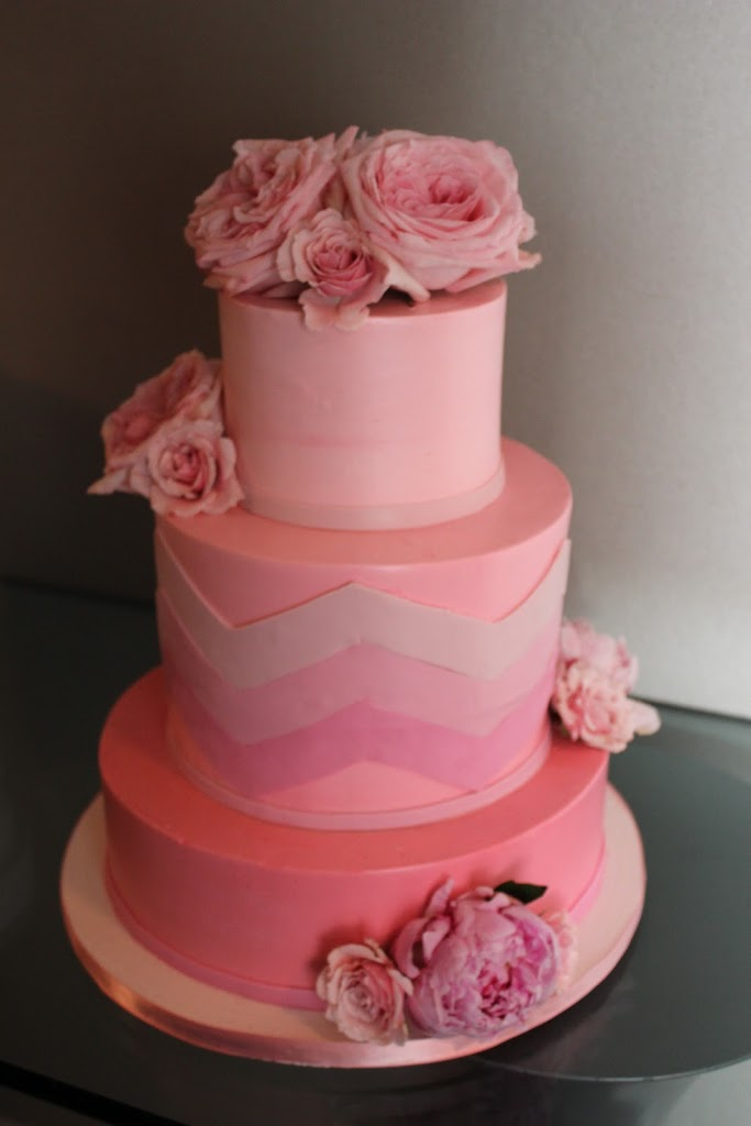 Colorful Wedding Cakes Cake Coquette