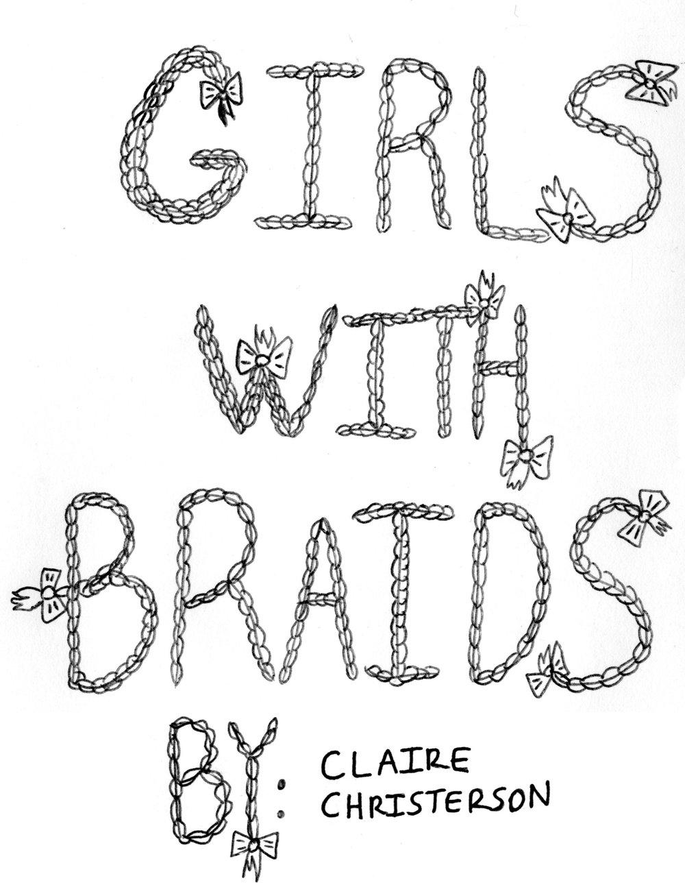 """Girls With Braids"" Zine"