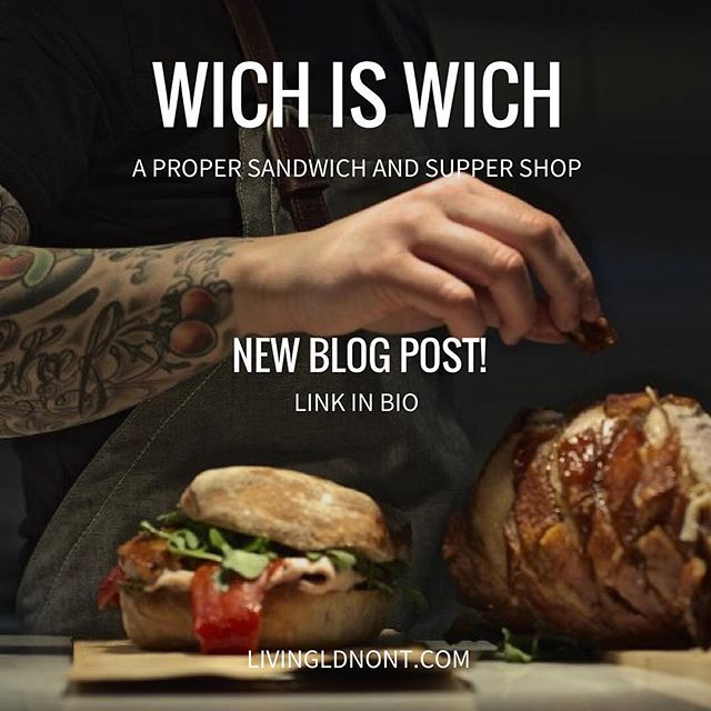 Check out our dining experience with the new Wich is Wich supper menu! Click the link in our bio. ✌🏼