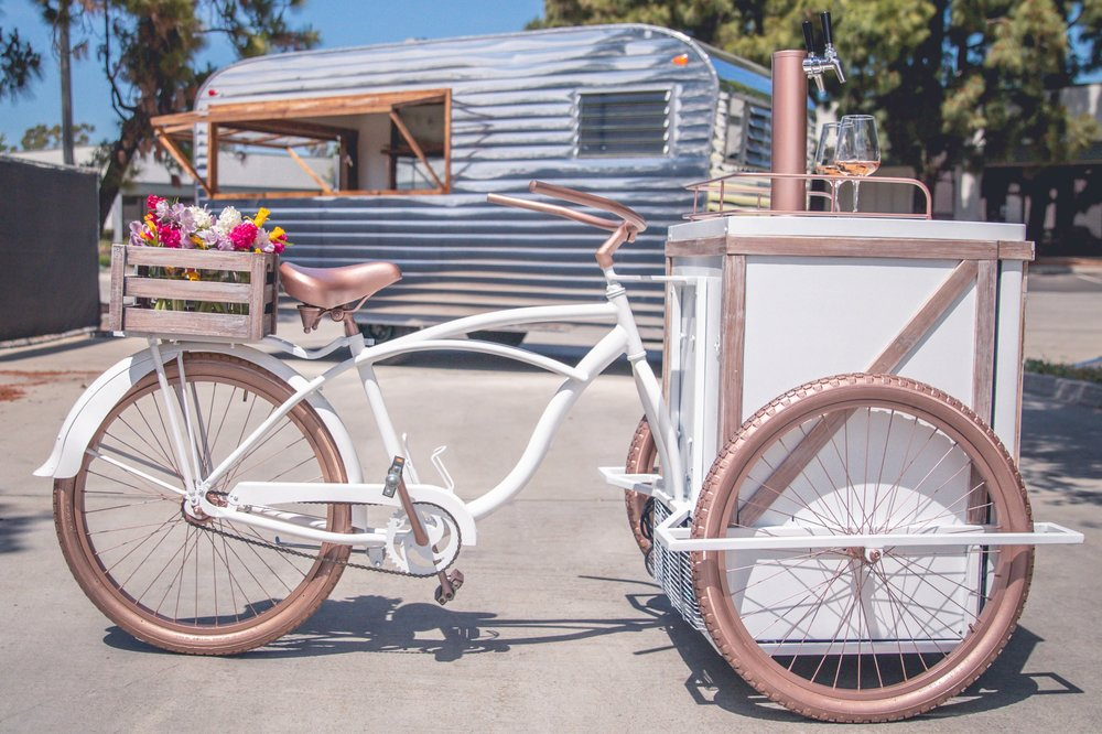 R&D Mobile Bar Trailer and AVA the Tap Bike - PC: Jake Dickenson