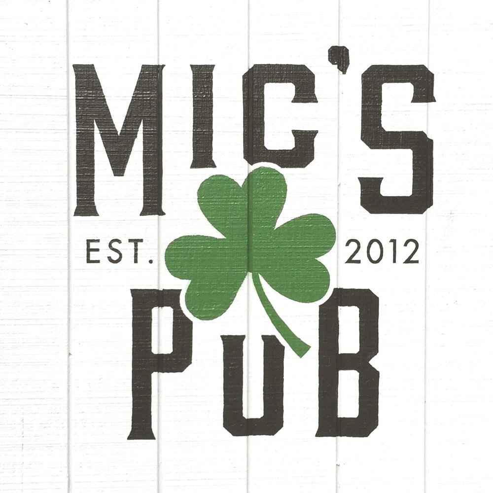 Mic's Pub  Logo and Menu Design