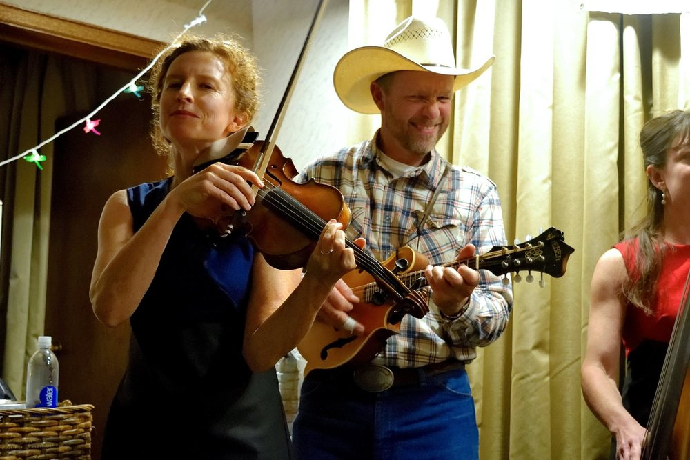 The Hossettes Bluegrass Band