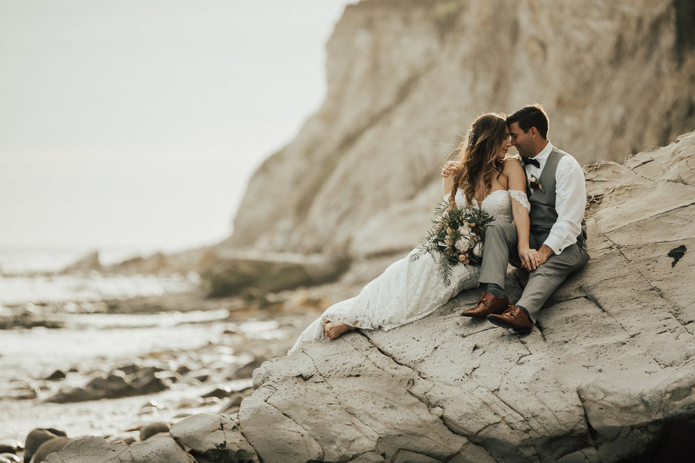 best santa barbara wedding photos