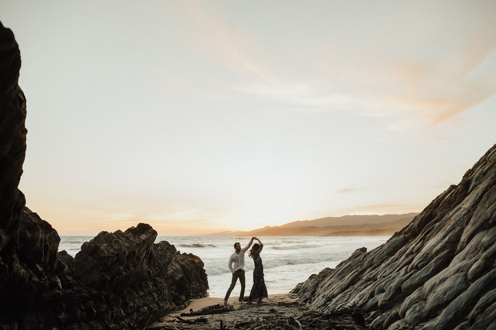 Rocky goleta wedding photography