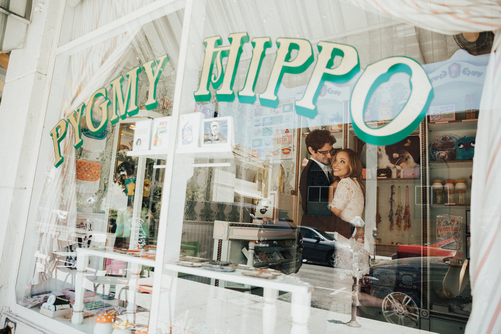 Pygmy Hippo Shoppe engagement