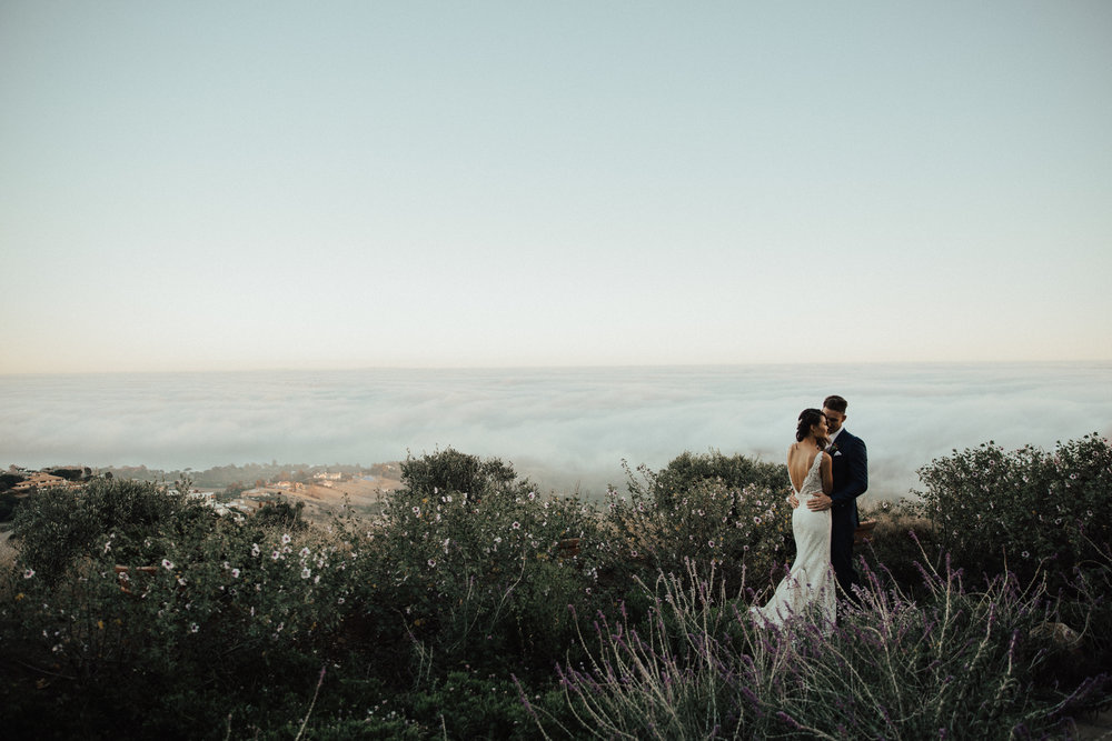 malibu coast wedding
