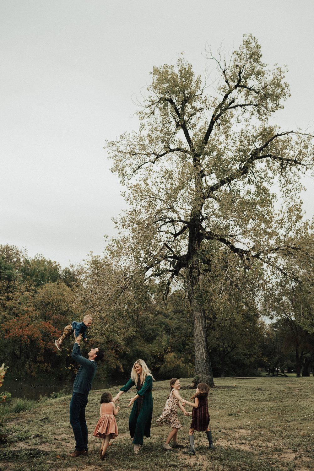 White Rock lake family session