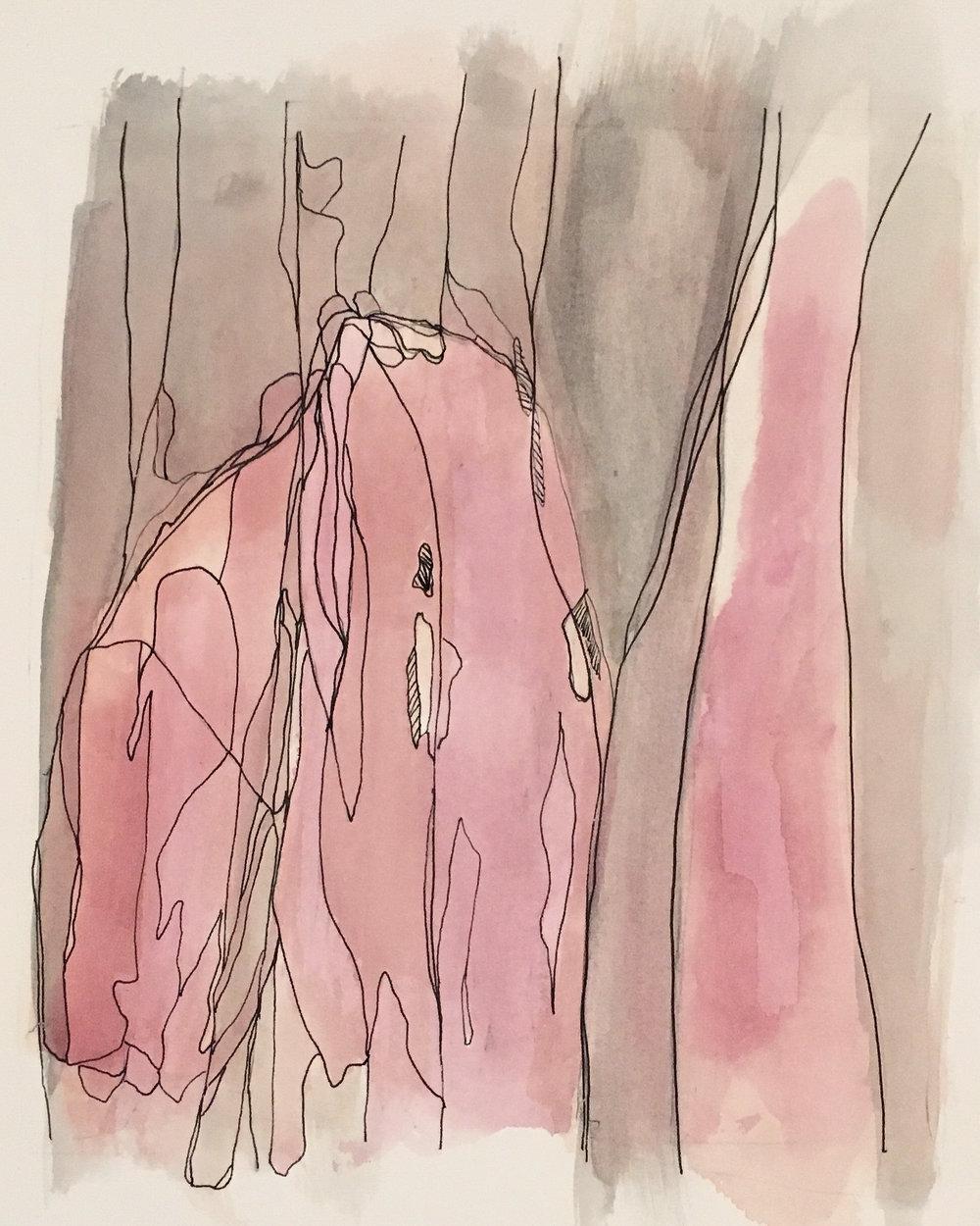 Sketch 21 ink on paper