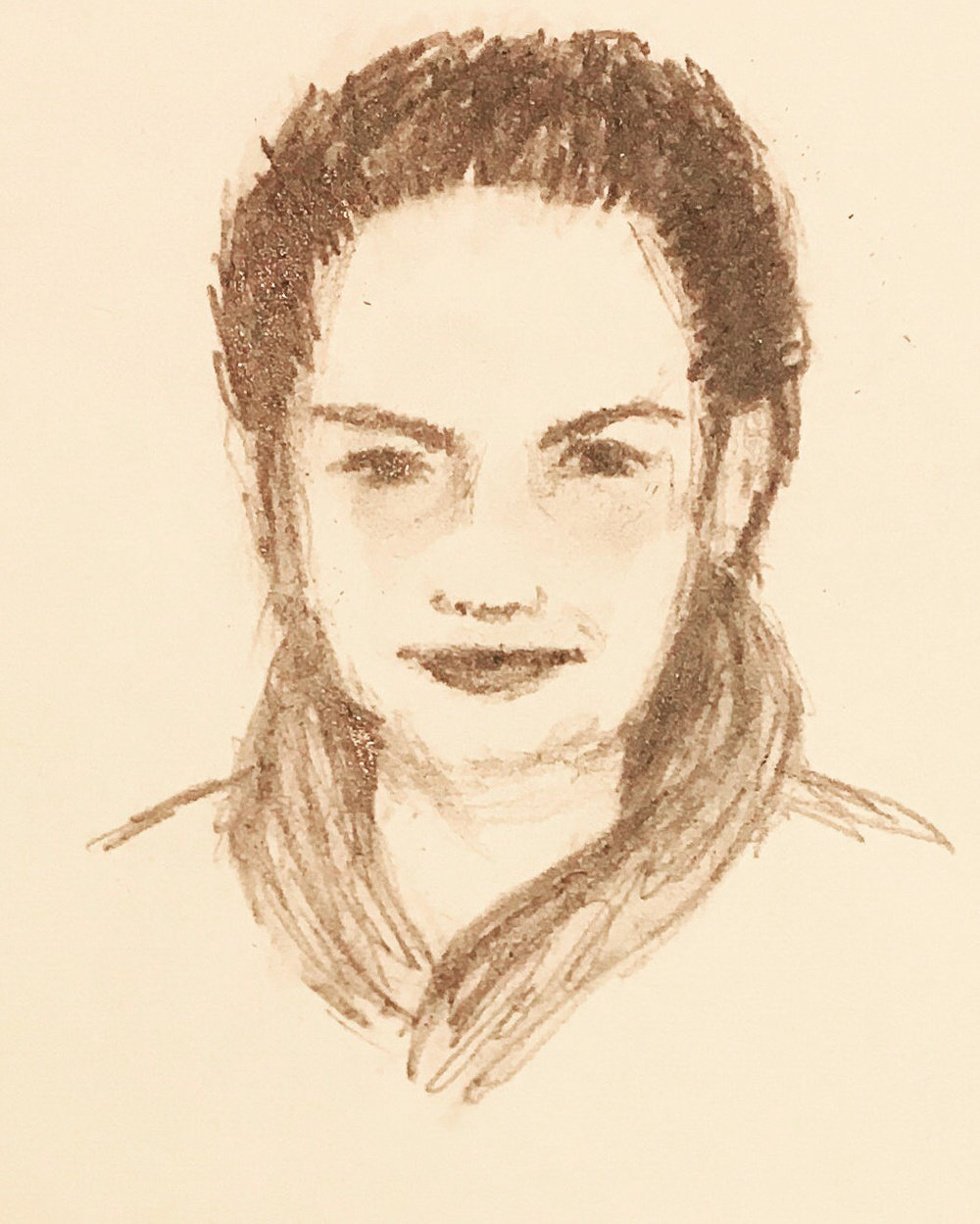 Sketch 55 pencil on paper