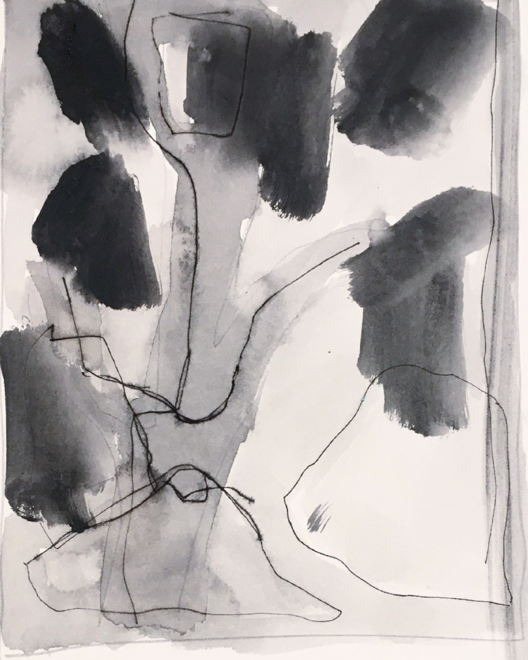 Sketch 106 pen ink wash on paper