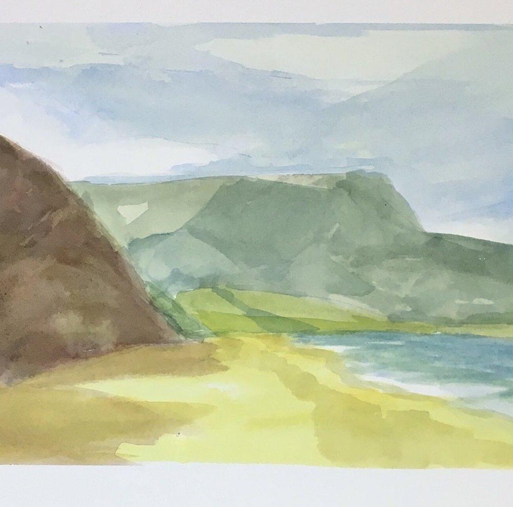 Garie watercolour