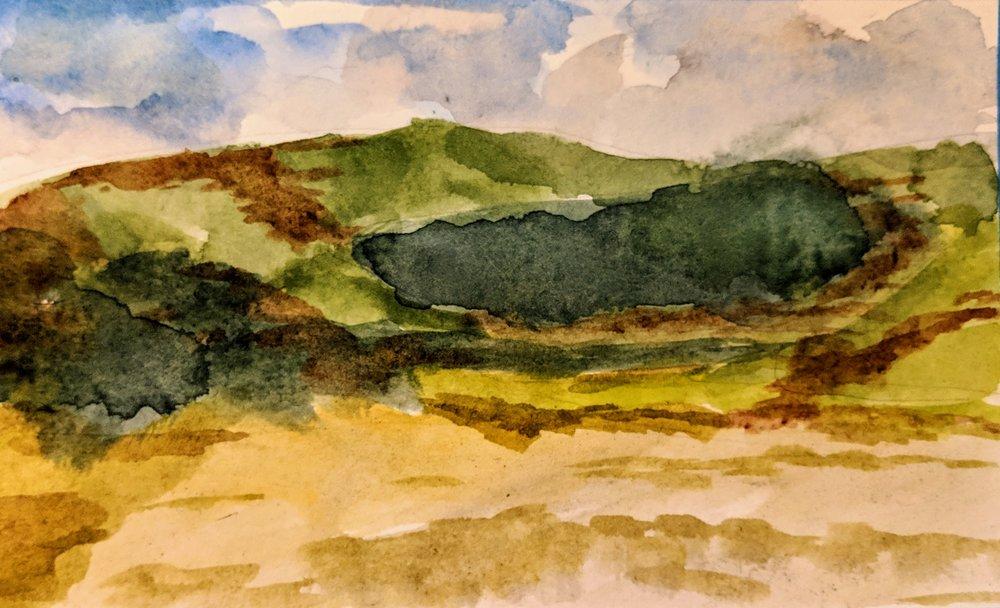 Beach Watercolour iii