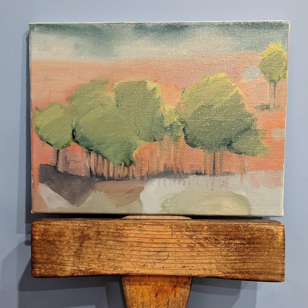 Scylla Bay Little Mangrove Trees sketch i