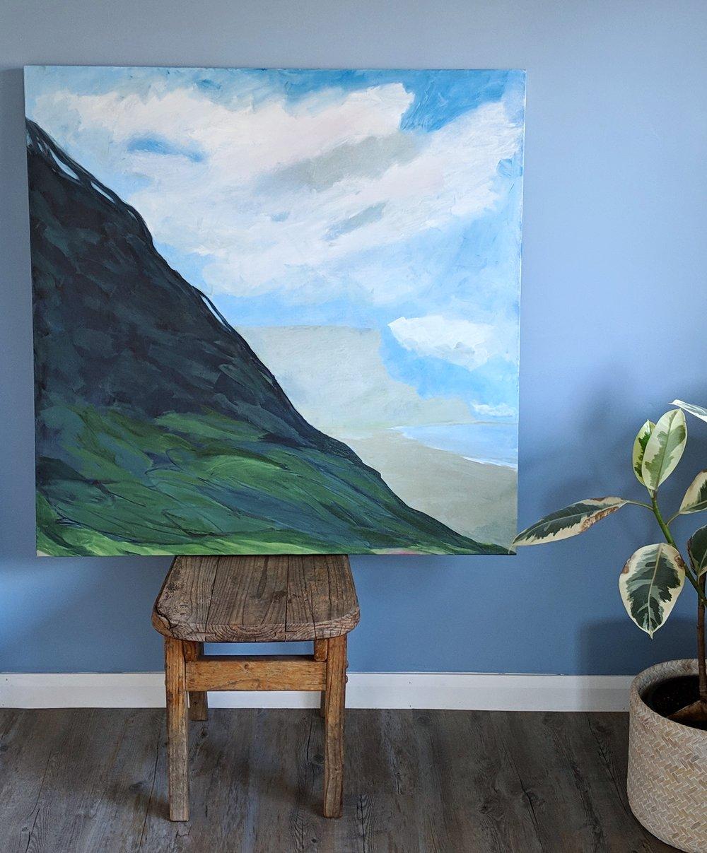 Garie Beach oil on canvas.jpg