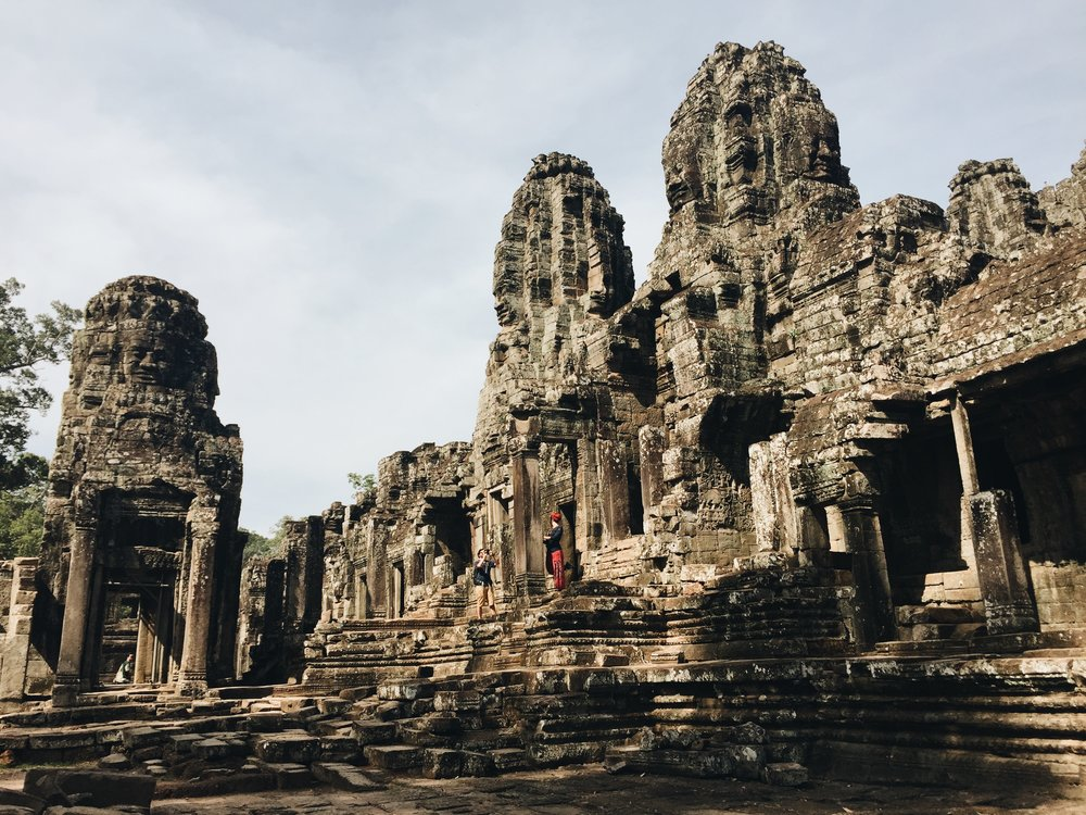 My favourite temple: Bayon Temple