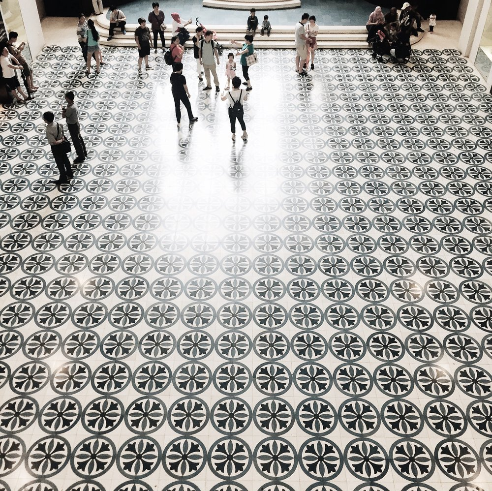 Floor obsession.