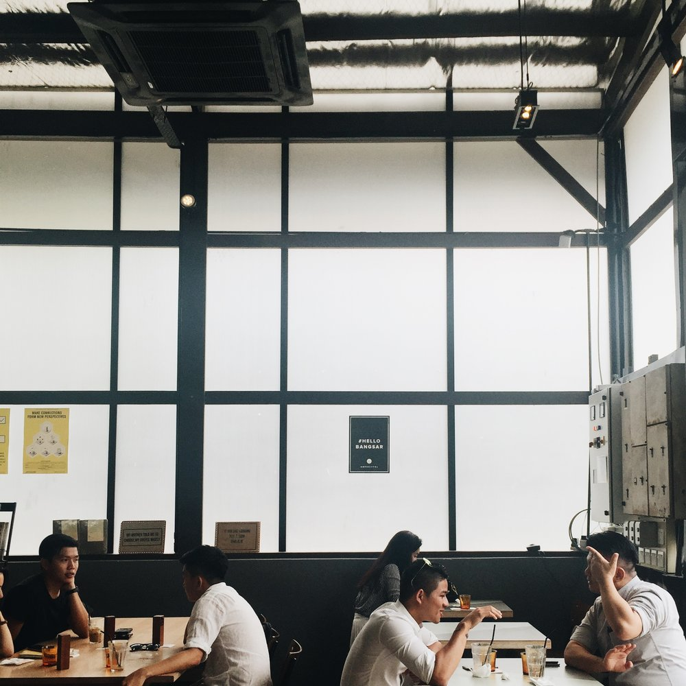 PULP by Papa Palheta ( 29, Jalan Riong, Bangsar, 59100 Kuala Lumpur, Wilayah Persekutuan Kuala Lumpur, Malaysia)    This one gives off the corporate coffee shop feels don't you think?