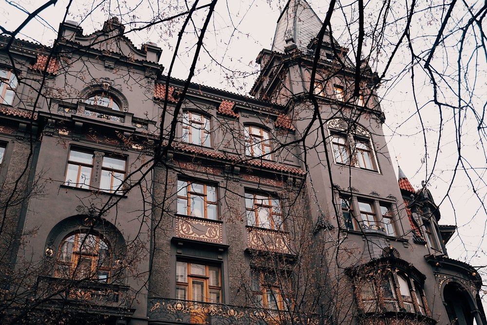 One of my favorite buildings in Prague. Reminds me so much of Insidious. <3