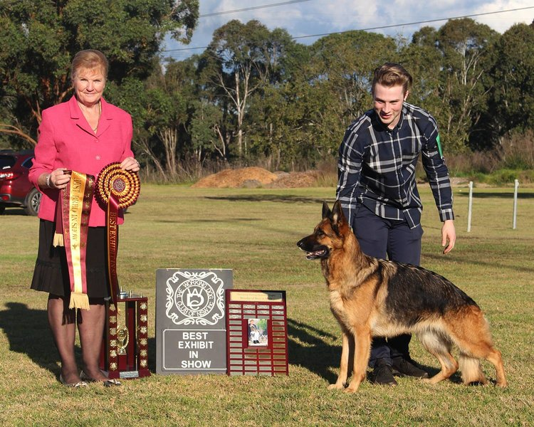 Kurt & JJ winning Best In Show