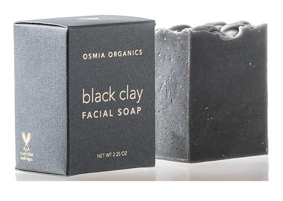 Osmia Organics Black Clay Facial Soap