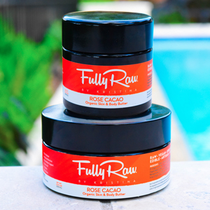 Fully Raw Rose Cacao Skin & Body Butter