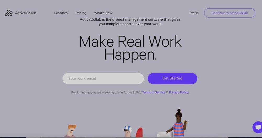 ActiveCollab screenshot