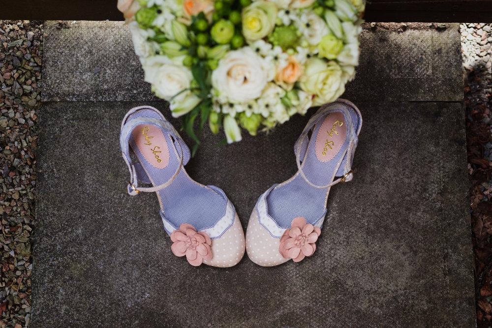 Ruby Shoo alternative wedding shoes