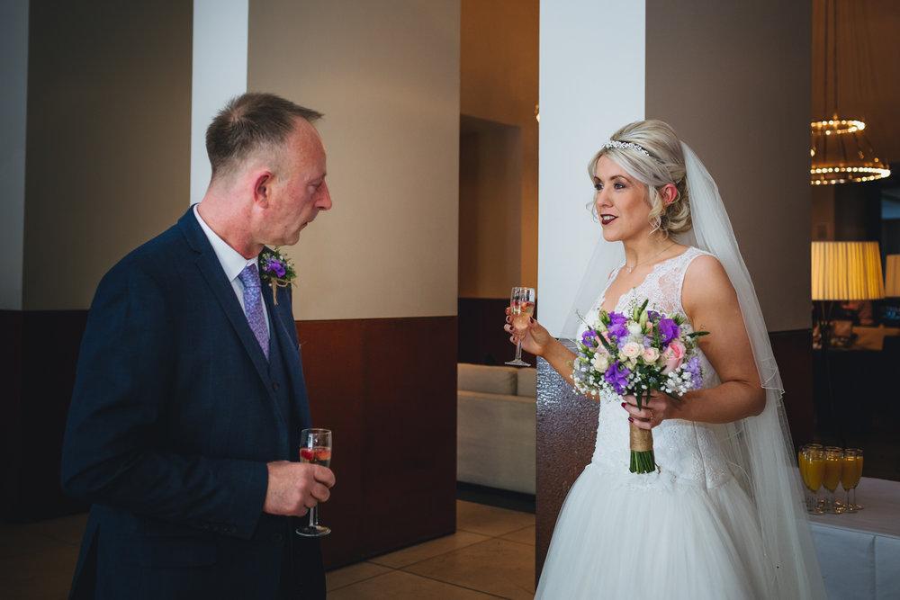 Wedding photographer Cardiff, South Wales, Park Plaza Hotel weddings