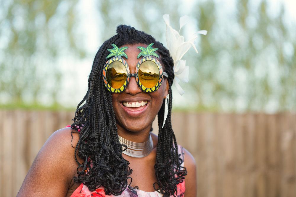 Wedding guest photos at Llanerch Vineyard