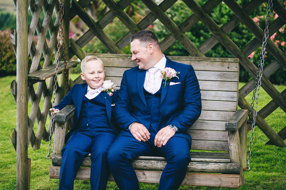 New House country hotel wedding photographer