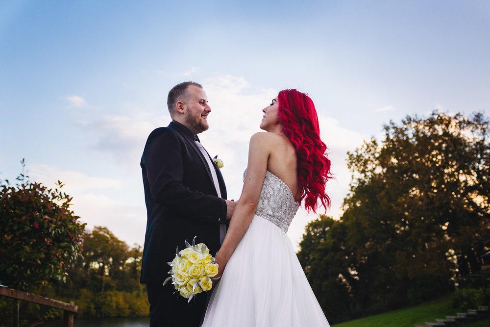 Canada Lake Lodge wedding photographer