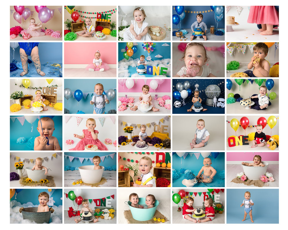 Cake Smash Photographer South Wales, Caerphilly, near Cardiff