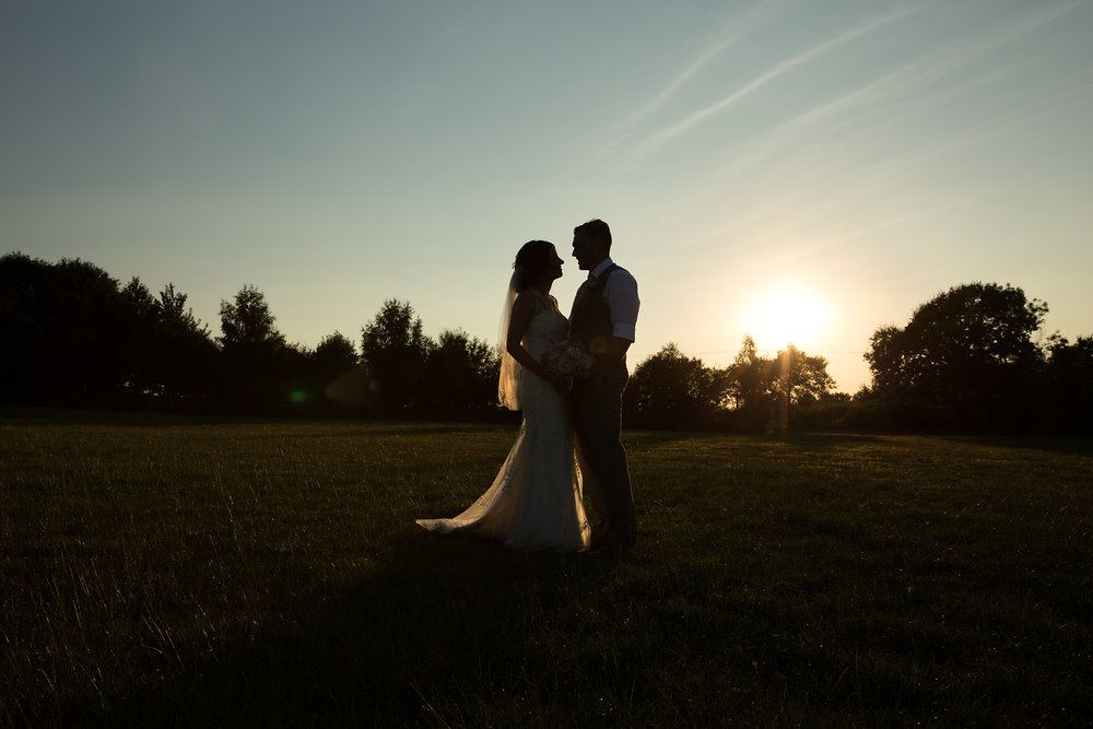 Bride and groom wedding photographer south wales
