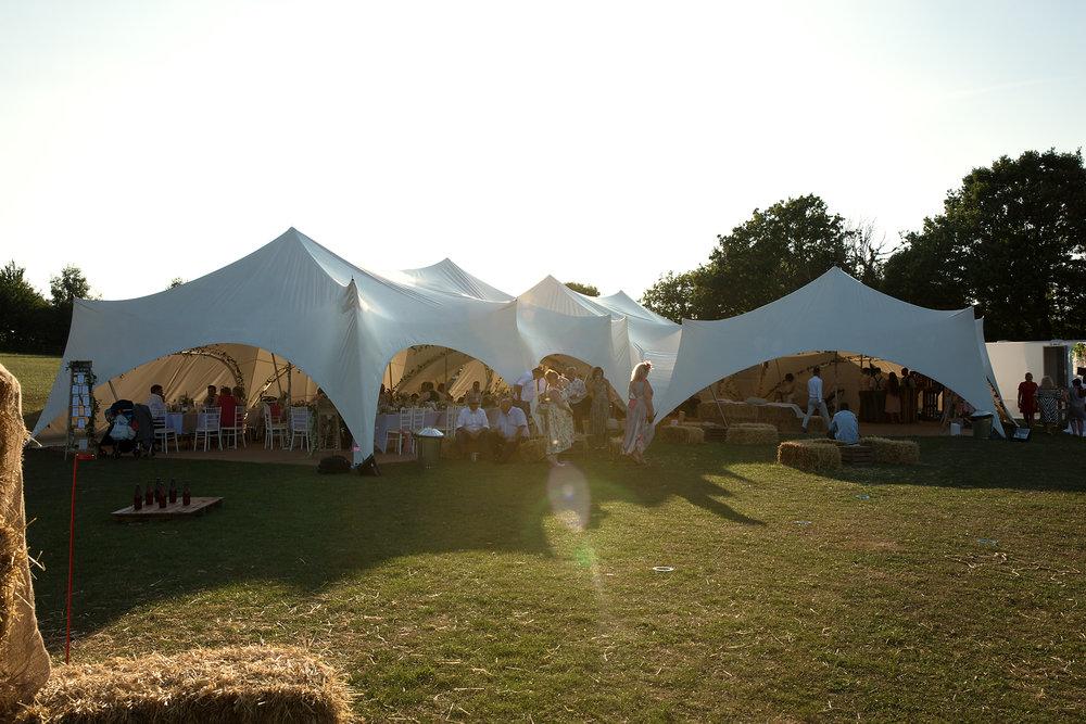 Festival wedding photos South Wales