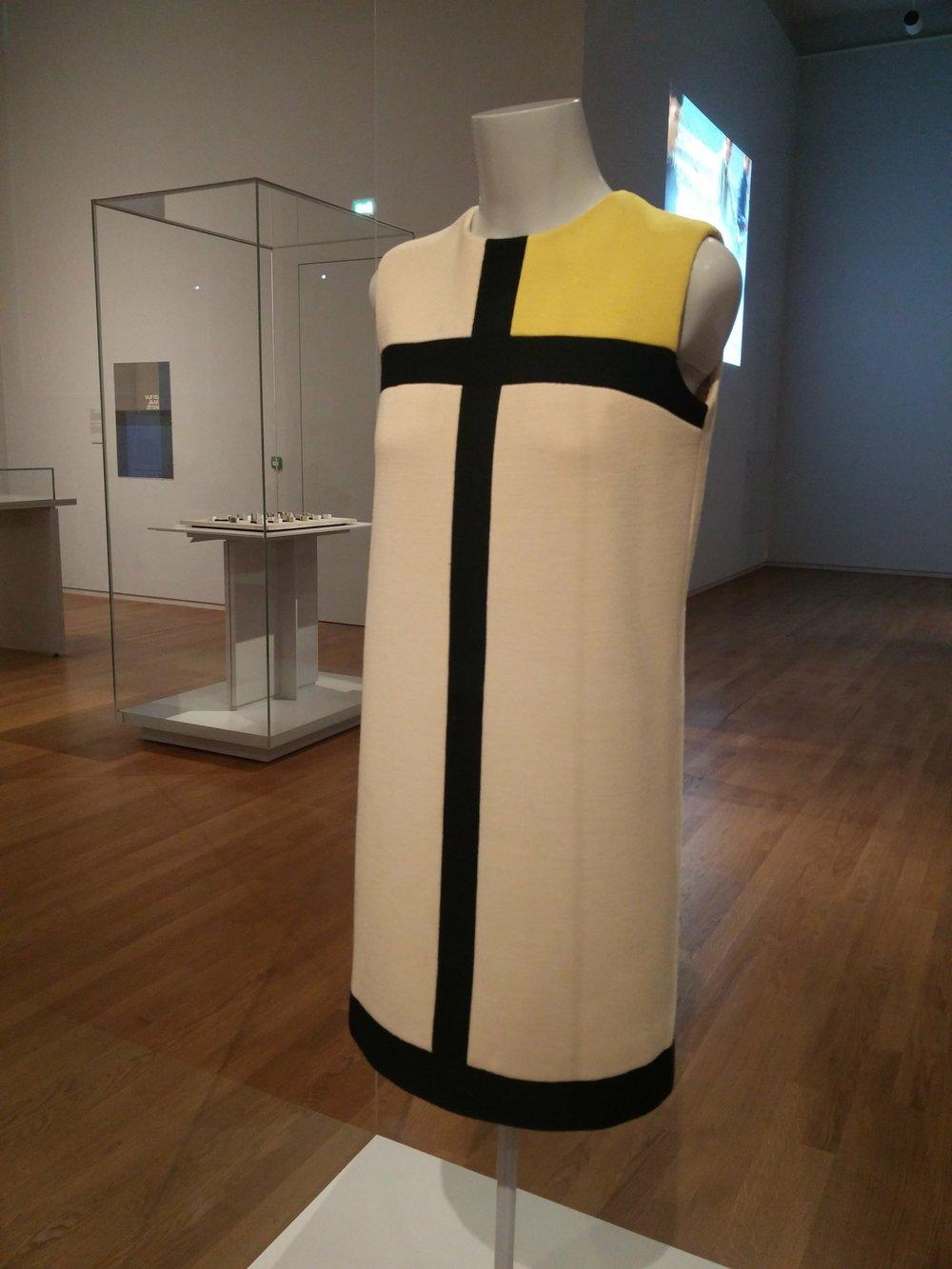 Yves Saint Laurent, Piet Mondrian Collaboration 1965. Rijksmuseum Amsterdam