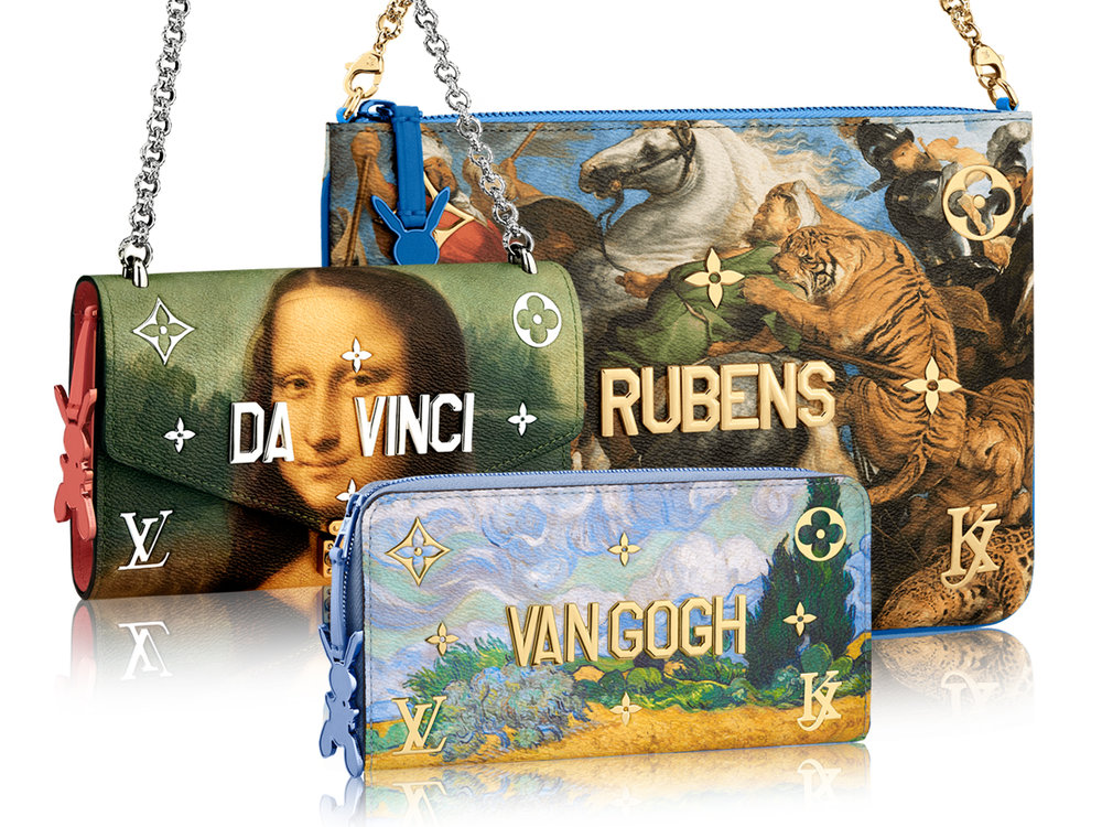Louis Vuitton and Jeff Koons collaboration 2017