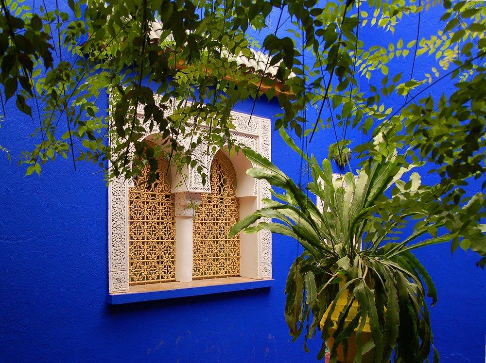 Majorelle Gardens. Image: Luc Viatour