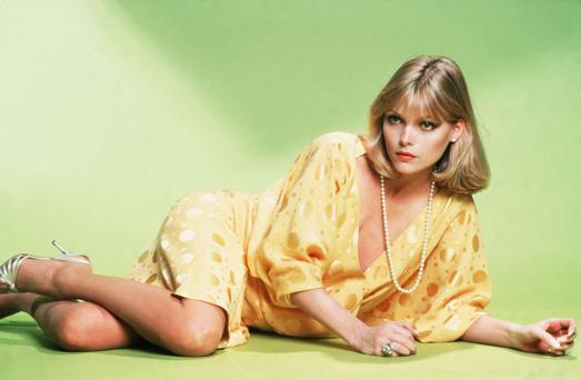 Michelle, Killing it in a yellow dress in 1983
