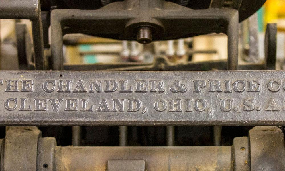 Hamilton Wood Type & Printing Museum -Press