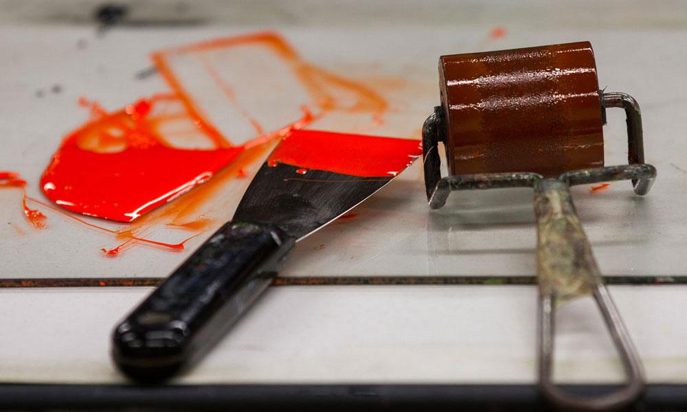 Hamilton Wood Type & Printing Museum - Ink & Roller