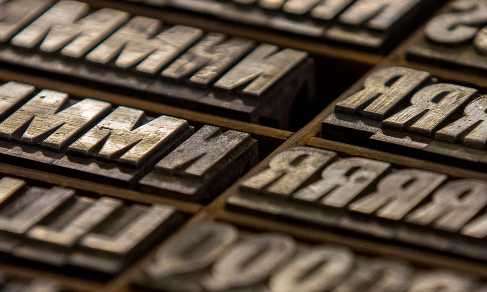 Hamilton Wood Type & Printing Museum - Wood Type