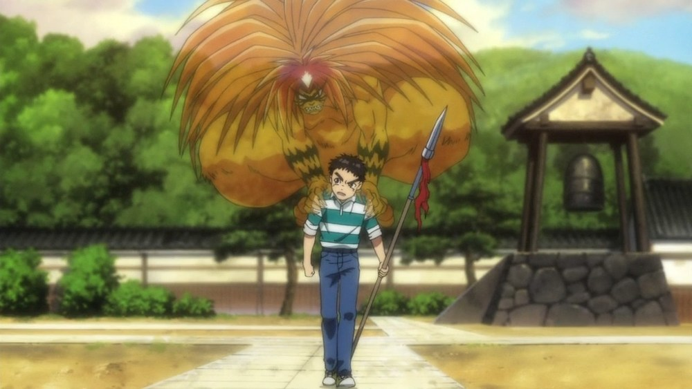 Tora haunting Ushio